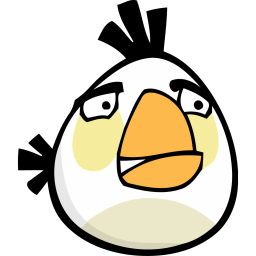 angry-bird-white-icon