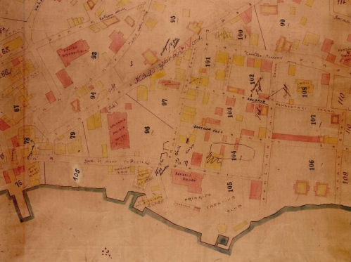 Antoine M. Raymund, Plan de Prinkipo, Haziran 1912. / SALT Araştırma Arşivi.