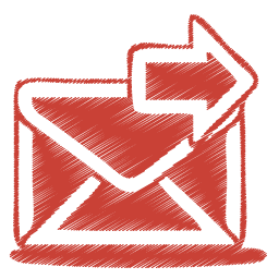 red-mail-send-icon